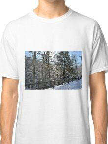 Snowy Overlook Classic T-Shirt