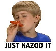 Just Kazoo It Photographic Print