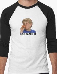 Just Kazoo It Men's Baseball ¾ T-Shirt