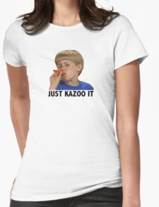 Just Kazoo It Womens Fitted T-Shirt