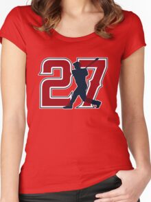 27 - Millville Meteor (original) Women's Fitted Scoop T-Shirt