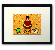 Tequila Party! Framed Print