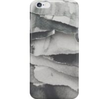 Paper Layers White iPhone Case/Skin