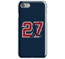 27 - Millville Meteor (original on blue) iPhone Case/Skin