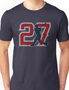 27 - Millville Meteor (vintage on blue) Unisex T-Shirt