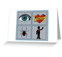 I Love Spider Man ... Greeting Card