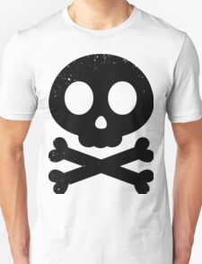 Cute Skull and Crossbones (black) T-Shirt