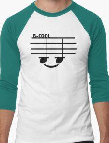 B-Cool (with text) Men's Baseball ¾ T-Shirt