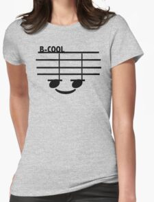 B-Cool (with text) Womens Fitted T-Shirt