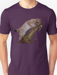 The Lynx and a Butterfly Unisex T-Shirt