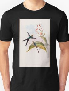 A monograph of the Trochilidæ or family of humming birds by John Gould 1861 V3 248 Cometes Glyceria T-Shirt