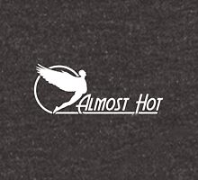 Almost Hot Beer Belly Angle White Unisex T-Shirt