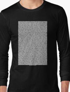 Bee movie script black shirt Long Sleeve T-Shirt