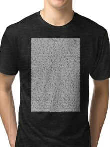 Bee movie script black shirt Tri-blend T-Shirt