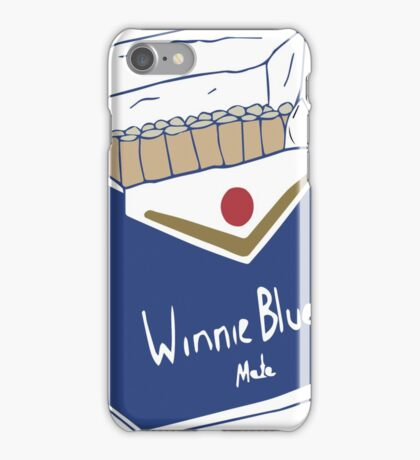 Winnie Blue's Mate  iPhone Case/Skin