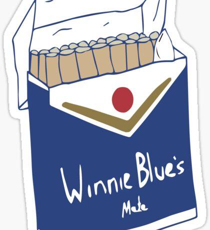 Winnie Blue's Mate  Sticker