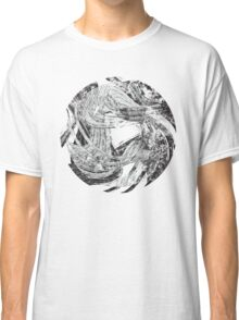 Raging Torrent of Waves Classic T-Shirt