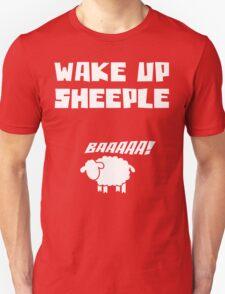 Wake Up Sheeple Funny T Shirt T-Shirt