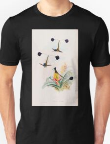 A monograph of the Trochilidæ or family of humming birds by John Gould 1861 V3 188 Loddigesia Mirabilis T-Shirt