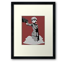 Inspector Framed Print
