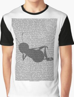 Bee script silhouette Graphic T-Shirt