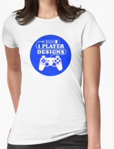 1 Player Designs Womens Fitted T-Shirt