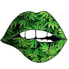 Weed Lips by hgl1
