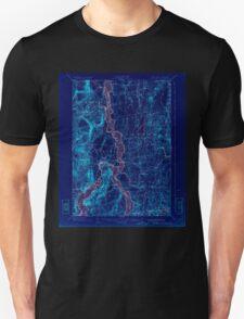 New York NY Ticonderoga 144328 1902 62500 Inverted T-Shirt