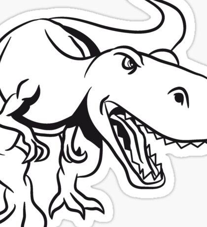Dinosaur dinosaur T-Rex Tyrannosaurus Rex Sticker