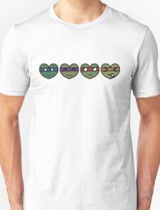 TMNT Hearts Unisex T-Shirt