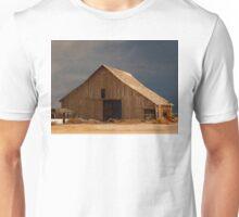 An Old Barn in Rural California Unisex T-Shirt