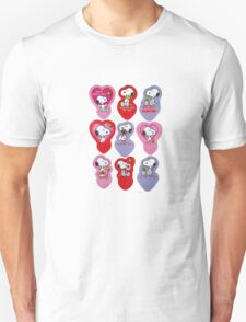 Snoopy's Valentine's Day Collage T-Shirt
