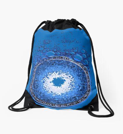 Gateway to Atlantis Drawstring Bag
