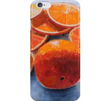 """Orange and slices"" iPhone Case/Skin"