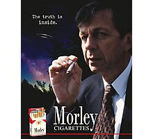 Morley Cigarettes Ad Photographic Print