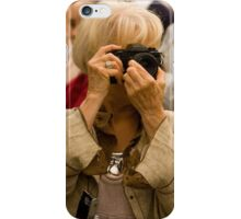 Camera Woman with Class iPhone Case/Skin
