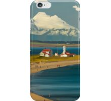 Point Wilson, Mt. Baker, Port Townsend, WA iPhone Case/Skin