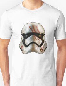Finn's Dirty Stormtrooper Helmet - Star Wars T-Shirt
