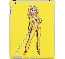 The Bride Kill Bill iPad Case/Skin