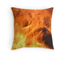Born from Flames Throw Pillow