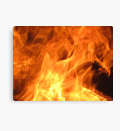 Born from Flames Canvas Print