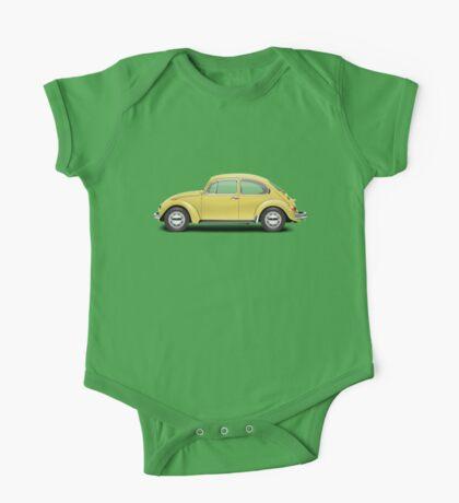 1972 Volkswagen Beetle - Saturn Yellow One Piece - Short Sleeve