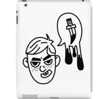 Spit Murder iPad Case/Skin