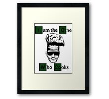 The one who cooks Framed Print