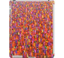 Red metro iPad Case/Skin