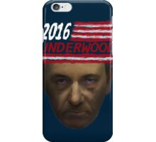 Underwood 2016 iPhone Case/Skin