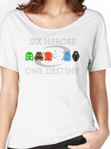 BIONICLE: Six Heroes, One Destiny Minimalist Women's Relaxed Fit T-Shirt