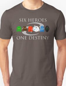 BIONICLE: Six Heroes, One Destiny Minimalist T-Shirt