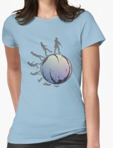 Space Evolution Womens Fitted T-Shirt