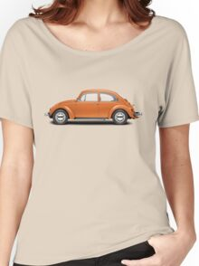 1974 Volkswagen Beetle - Bright Orange Women's Relaxed Fit T-Shirt